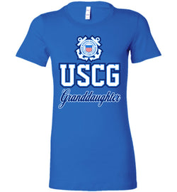USCG Coast Guard Granddaughter Women's T-Shirt