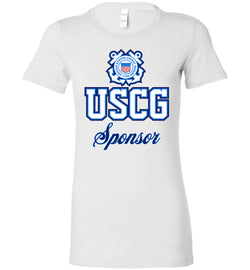 USCG Coast Guard Sponsor Women's T-Shirt