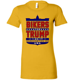 Bikers for Trump Full Shield Women's T-Shirt