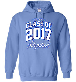 Proud Class of 2017 Stepdad Hoodie