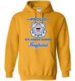 Proud US Coast Guard Boyfriend Hoodie