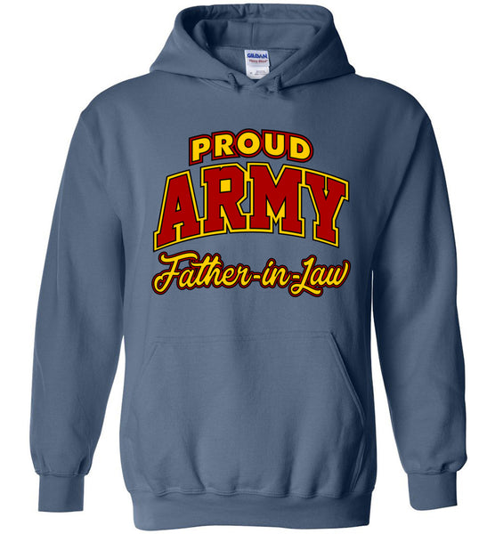 Proud Army Father-in-Law Hoodie