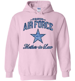 Proud Air Force Mother-in-Law Hoodie (Camo)