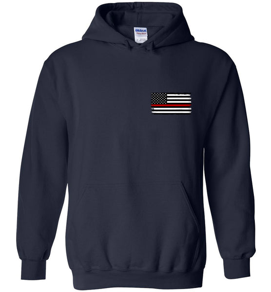 Thin Red Line Hoodie (2-Sided Design)