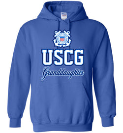 USCG Coast Guard Granddaughter Hoodie