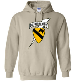 Death from Above - 1st Air Cav Army Gildan Heavy Hoodie - by DV8s.com