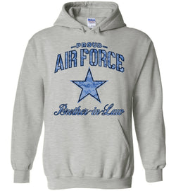 Proud Air Force Brother-in-Law Hoodie (Camo)