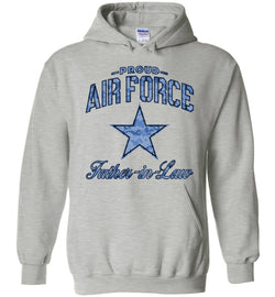 Proud Air Force Father-in-Law Hoodie (Camo)