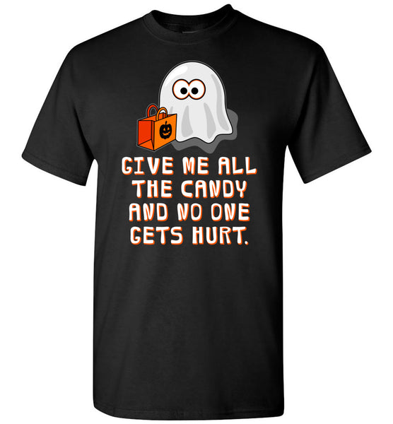 Funny Halloween T-Shirt: Baby Ghost