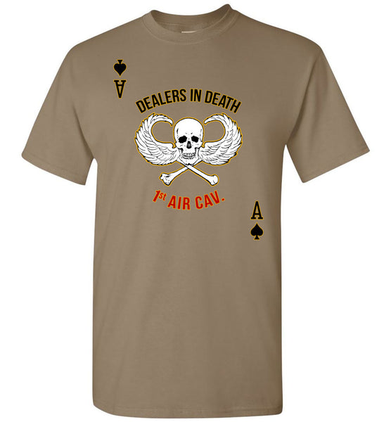 Dealers in Death - 1st Air Cav Army Gildan T-Shirt - by DV8s.com