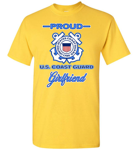 Proud US Coast Guard Girlfriend T-Shirt