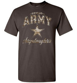 Proud Army Stepdaughter Camo T-Shirt