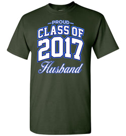 Proud Class of 2017 Husband T-Shirt