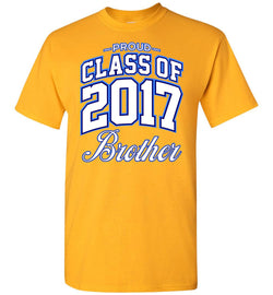 Proud Class of 2017 Brother T-Shirt