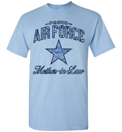 Proud Air Force Mother-in-Law T-Shirt (Camo)