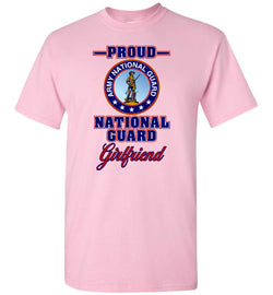 Proud National Guard Girlfriend T-Shirt