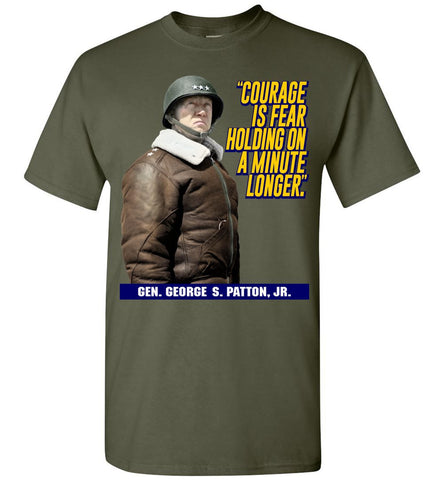 Gen. George S. Patton Gildan T-Shirt - by DV8s.com