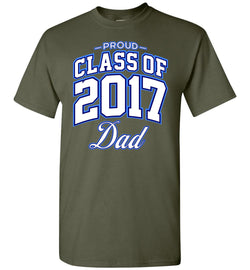 Proud Class of 2017 Dad T-Shirt