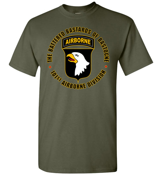 "101st Airborne ""Battered Bastards of Bastogne"" T-Shirt"