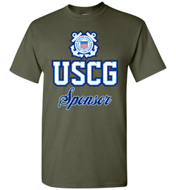 USCG Coast Guard Sponsor T-Shirt