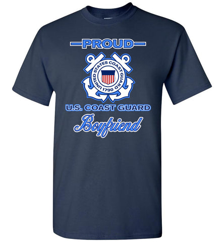 Proud US Coast Guard Boyfriend T-Shirt