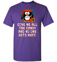 Funny Halloween T-Shirt: Penguin Pirate