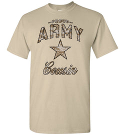 Proud Army Cousin Camo T-Shirt