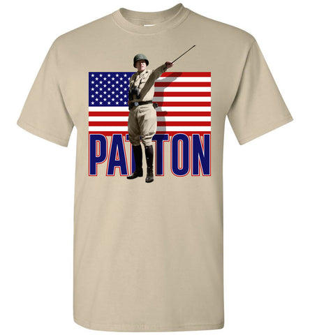 General Patton U.S. Flag T-Shirt