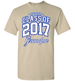 Proud Class of 2017 Grandpa T-Shirt