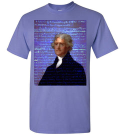 Jefferson's Declaration of Independence Gildan Short-Sleeve T-Shirt - by DV8s.com