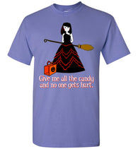 Funny Halloween T-Shirt: Young Witch