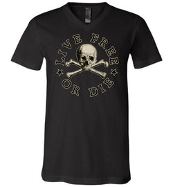 Live Free or Die Unisex V-Neck T-Shirt