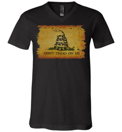 Gadsden Flag Unisex V-Neck T-Shirt