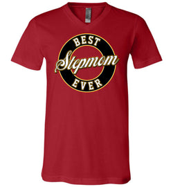 Best Stepmom Ever Unisex V-Neck T-Shirt