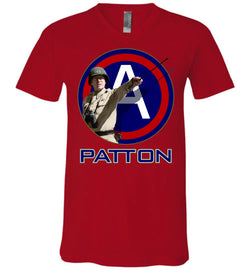 General Patton 3rd Army Unisex V-Neck T-Shirt