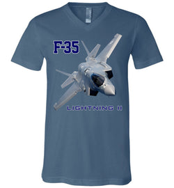 F-35 Lightning II Unisex V-Neck T-Shirt