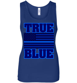 TRUE BLUE Women's Wide Strap Tank