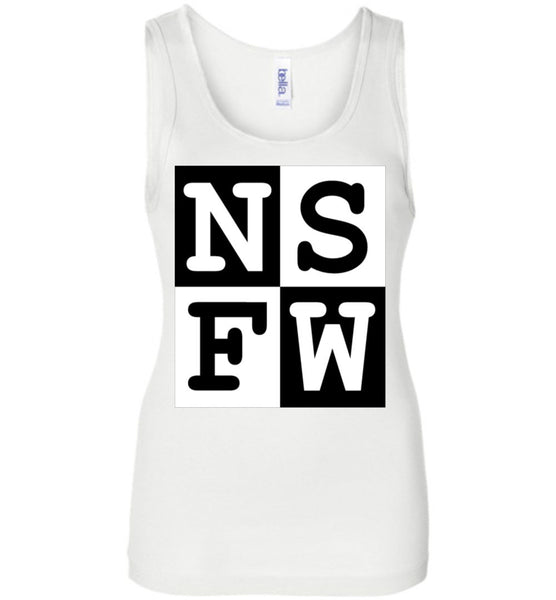 N|S|F|W Bella Ladies Wide Strap Tank - by DV8s.com