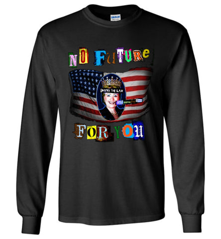 Anti-Hillary Punk Gildan Long-Sleeve T-Shirt - by DV8s.com