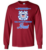 Proud U.S. Coast Guard Brat Long-Sleeve T-Shirt