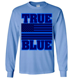 TRUE BLUE Long-Sleeve T-Shirt