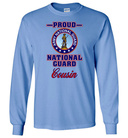 Proud National Guard Cousin Long-Sleeve T-Shirt