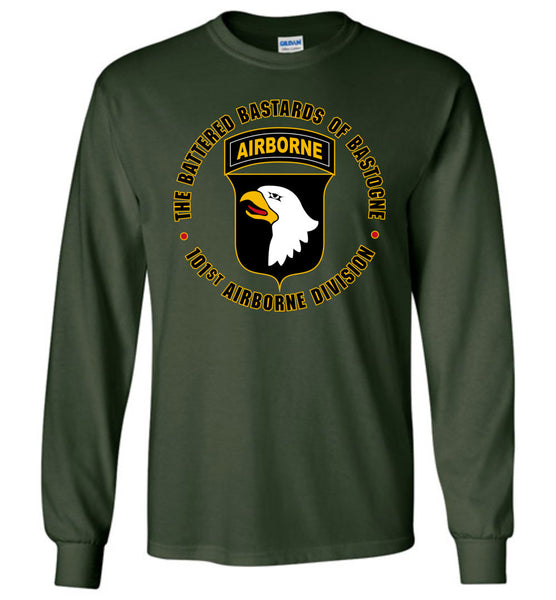 "101st Airborne ""Battered Bastards of Bastogne"" Long-Sleeve T-Shirt"