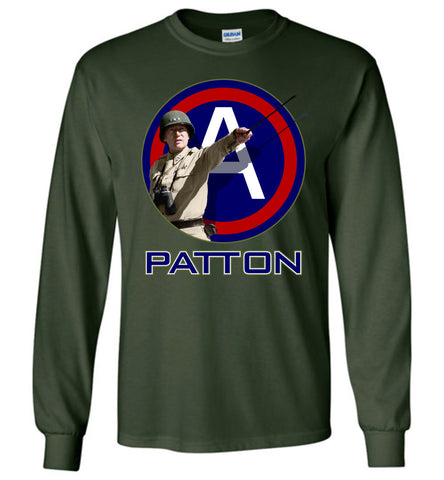 General Patton 3rd Army Long-Sleeve T-Shirt