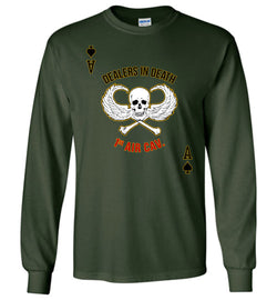 Dealers in Death - 1st Air Cav Army Long-Sleeve T-Shirt