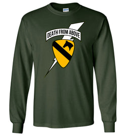Death from Above - 1st Air Cav Army Long-Sleeve T-Shirt