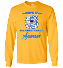 Proud U.S. Coast Guard Sponsor Long-Sleeve T-Shirt