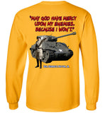 Patton 3rd Army Long Sleeve T-Shirt (2-sided)