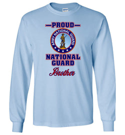 Proud National Guard Brother Long-Sleeve T-Shirt
