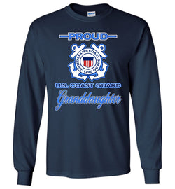 Proud U.S. Coast Guard Granddaughter Long-Sleeve T-Shirt
